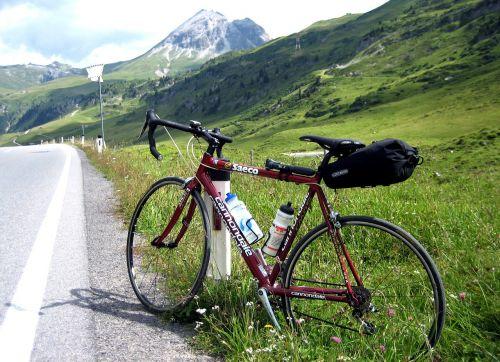 road bike transalp pass