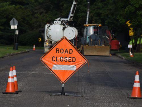 kelias uždarytas,ženklas,statyba,kelias,uždaryta,kelias,gatvė
