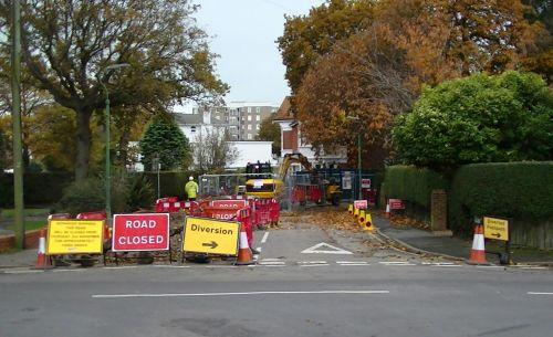 Road Closed Diversion
