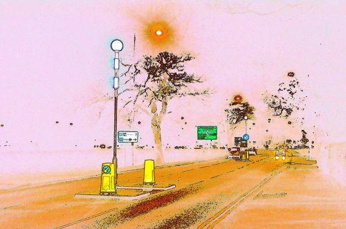 Road-color Sketch
