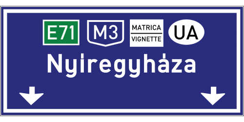 road sign roadsign road-sign