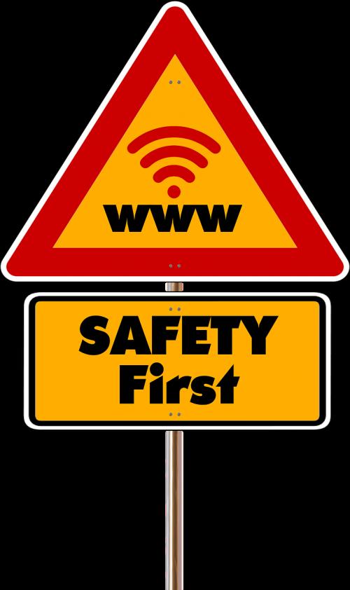 road sign security close