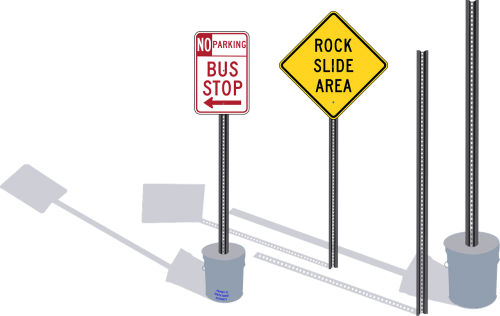 road signs signposts traffic