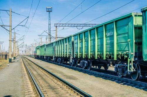 road trains wagons railway tracks