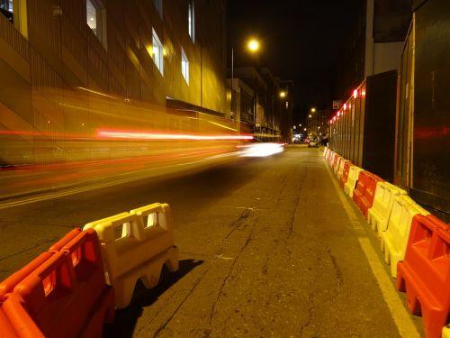 road works london street
