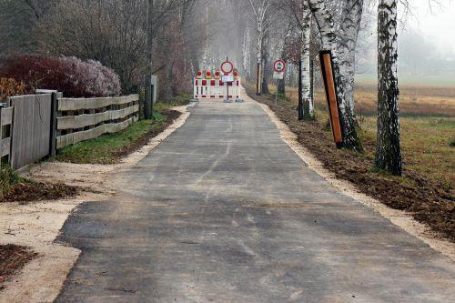 road works site road