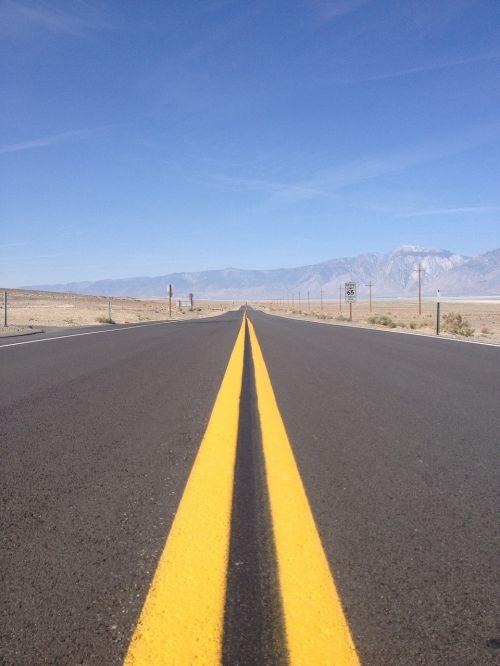 roads endless road america