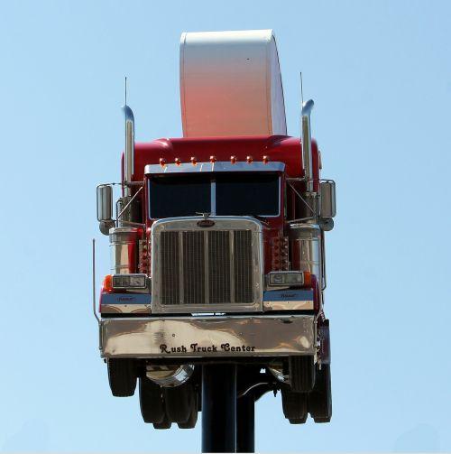 roadsign truck peterbilt