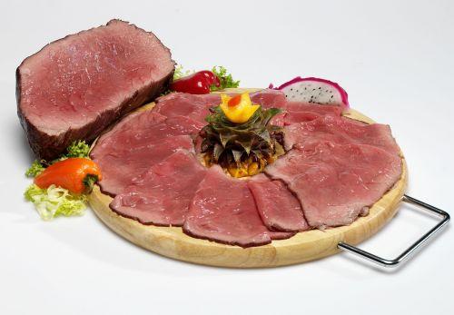 roast beef meat fresh