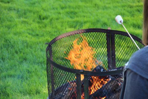 Roast Marshmallow Over Fire