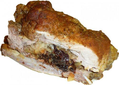 roast pork fry rib roast