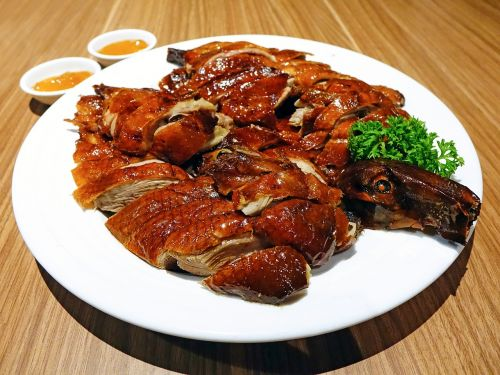 roasted duck 烧鸭 chinese