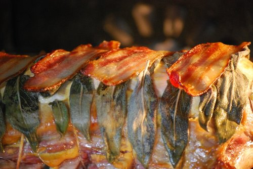 roasted pork  sage  gourmet