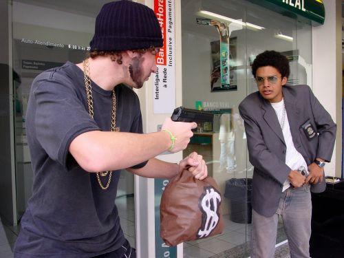 robber gun money