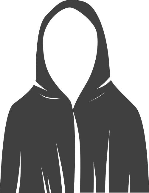 robe hooded anonymous