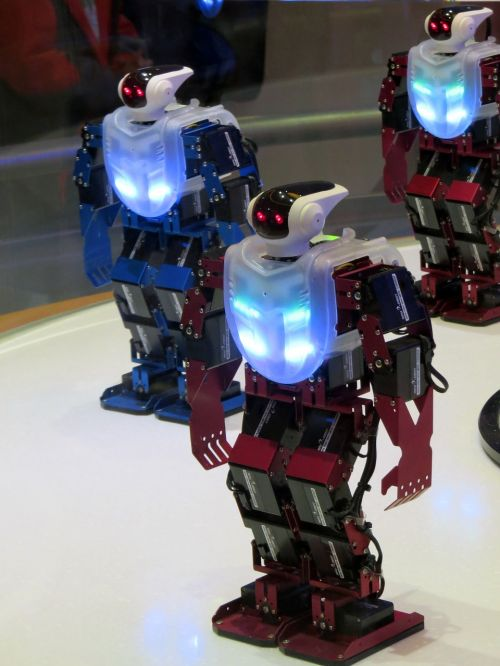 robot robot dance high-tech science
