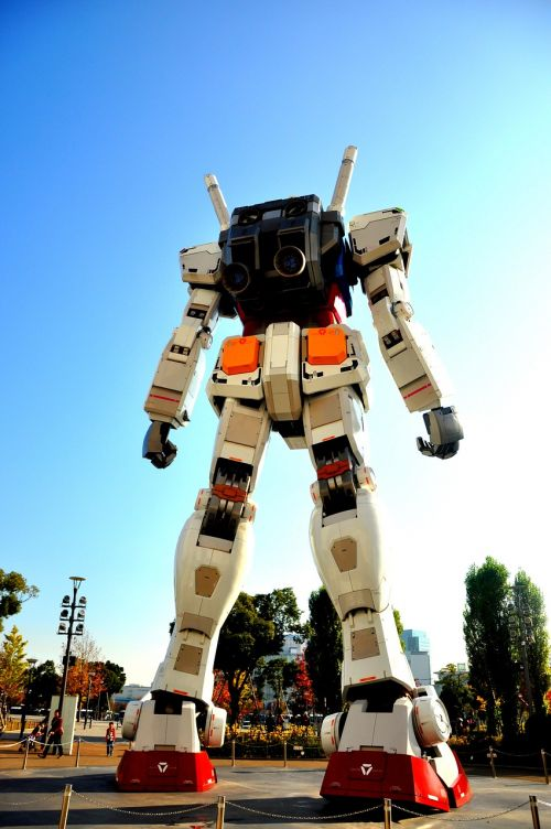 robot gundam anime