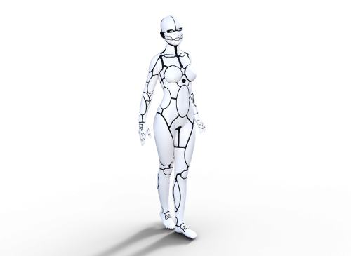 robot girl robotic
