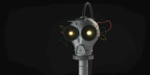 robot crazy steampunk