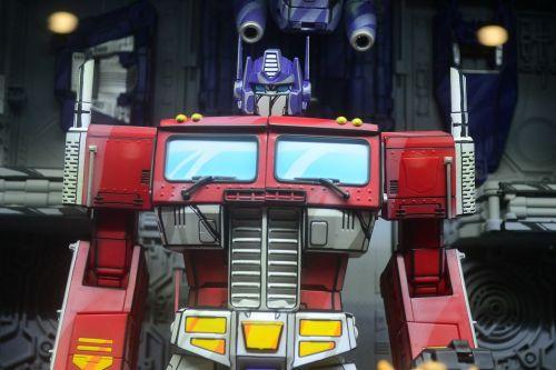 robot transformer manga