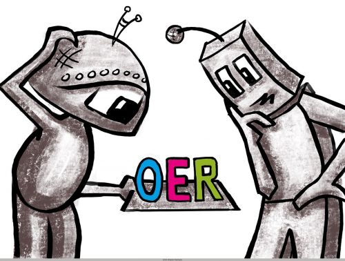 robot oer open educational resources