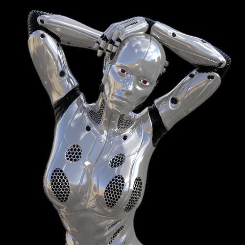 robot  artificial intelligence  cyborg