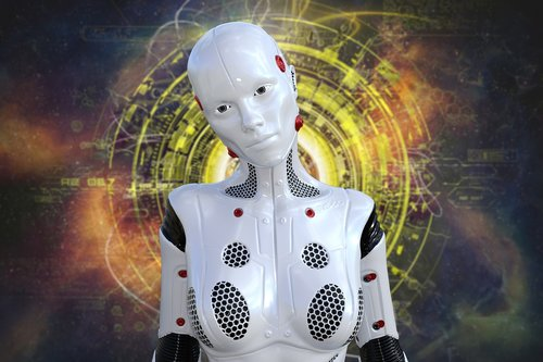robot  technology  android