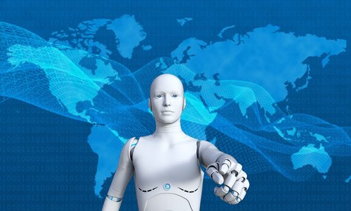 robot  technology  futuristic