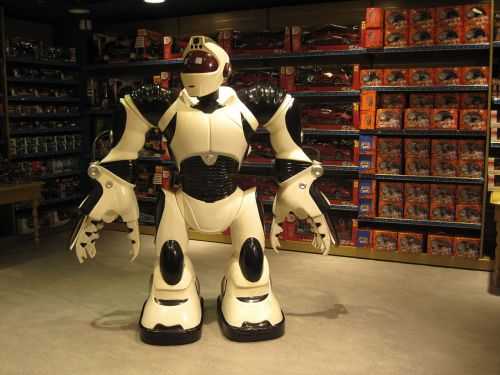 robot toy store