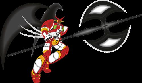 robot superhero shin getter