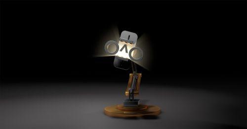 robot arm virtual reality light