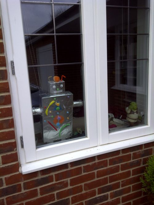Robot At The Window