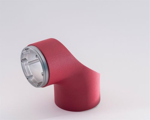 robotic component red