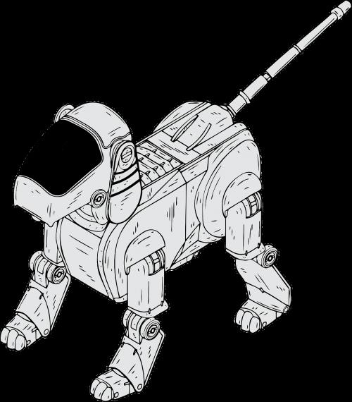 robotic dog electronic