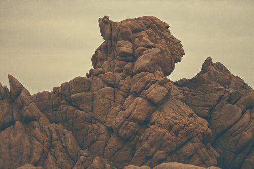 rock geological formation sandstone