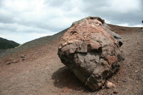 rock volcano sicily