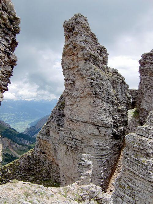 rock stone mountains