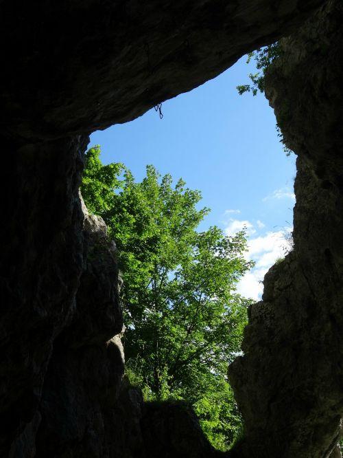 rock view landscape