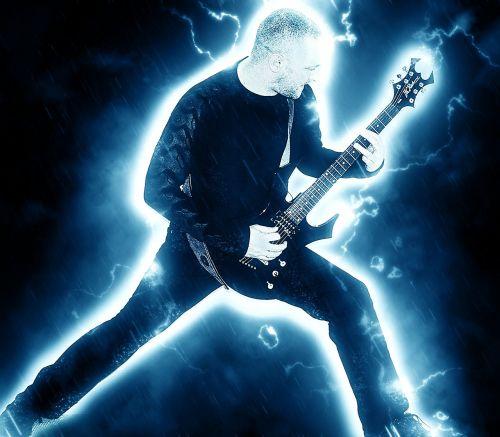 rock guitar heavy metal