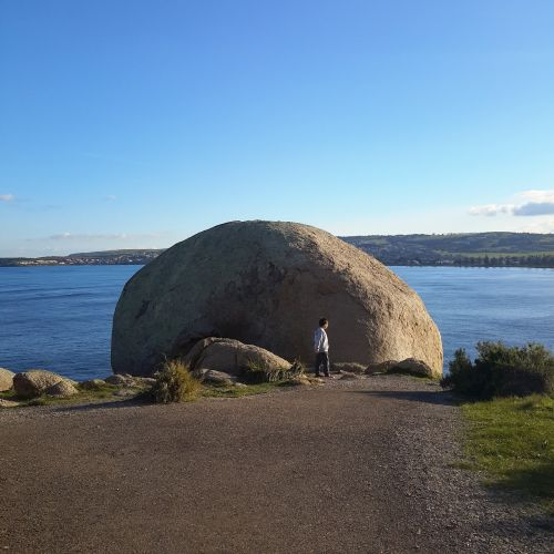 granite island south australia rock