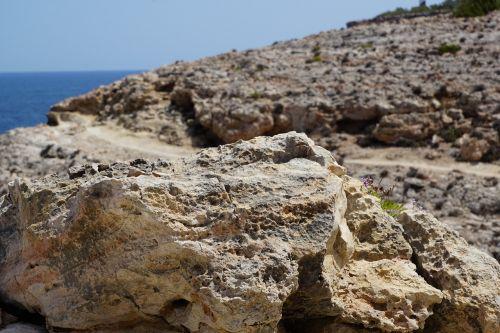 rock sea nature