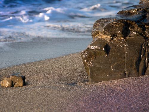 rock stone sea