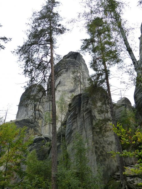 rock rock formations stone