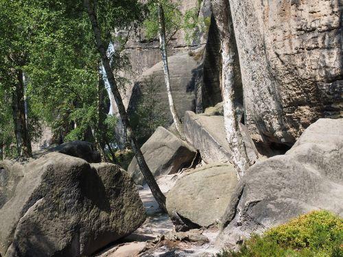 rock rock blocks frienstein
