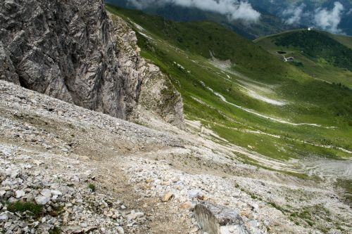 rock,hiking,mountaineering,south tyrol,forest,meadow,gorge,hike,nature,travel,landscape,pebble,rise