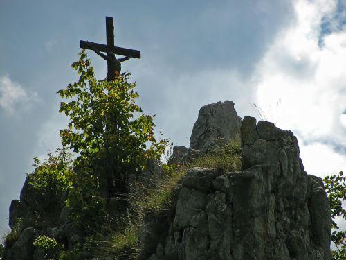 rock mountain summit