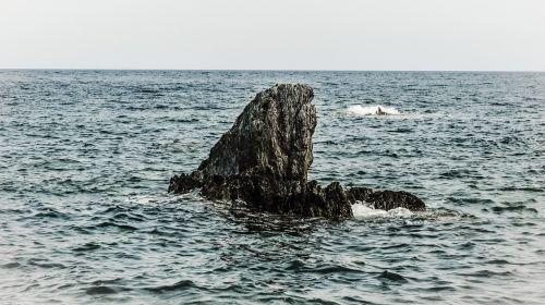 rock alone sea