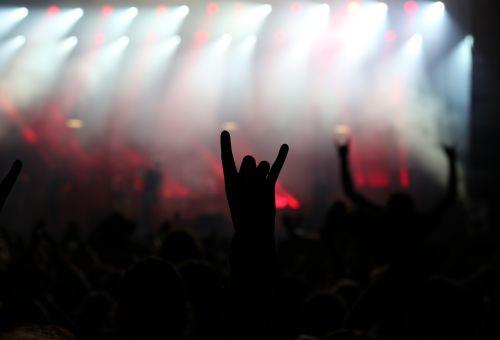 rock metal concert