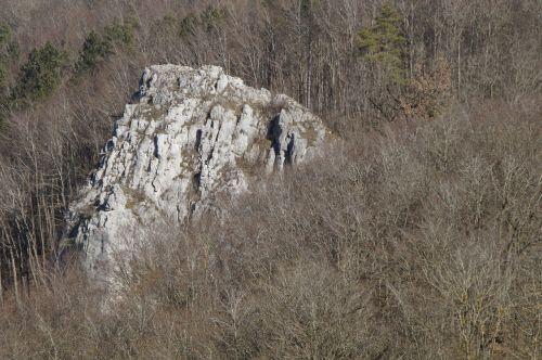 rock limestone swabian alb