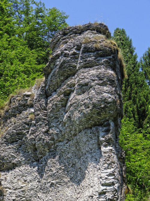 rock ledge view